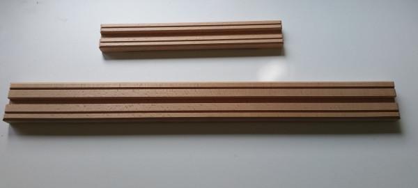 Stellkonsole aus Buchenholz