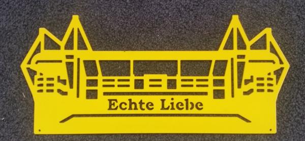 Stadion Dortmund, Echte Liebe-gelb