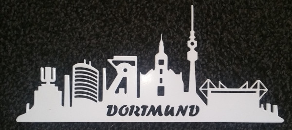 Skyline Dortmund-Text Dortmund